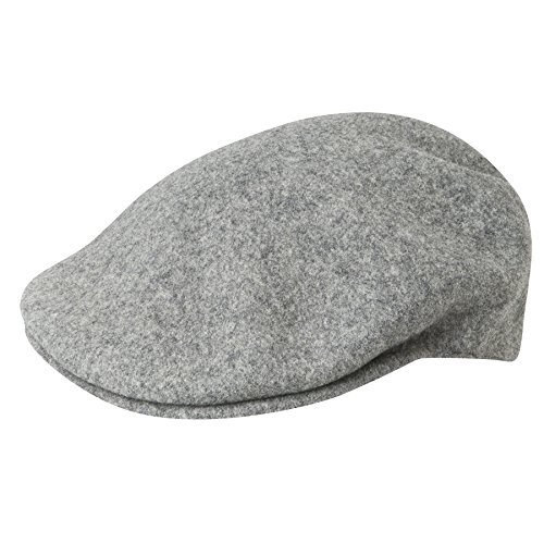 Kangol Men's Classic Wool 504 Cap, Our Most Iconic Shape, Flannel (XX-Large) ()