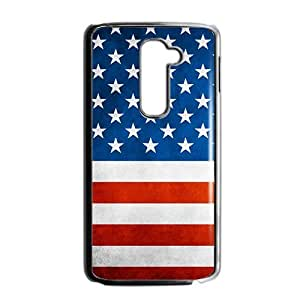 Unique US Flag Phone Case for LG G2