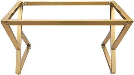 HXBH Patas de muebles de hierro forjado dorado - patas de mesa de ...