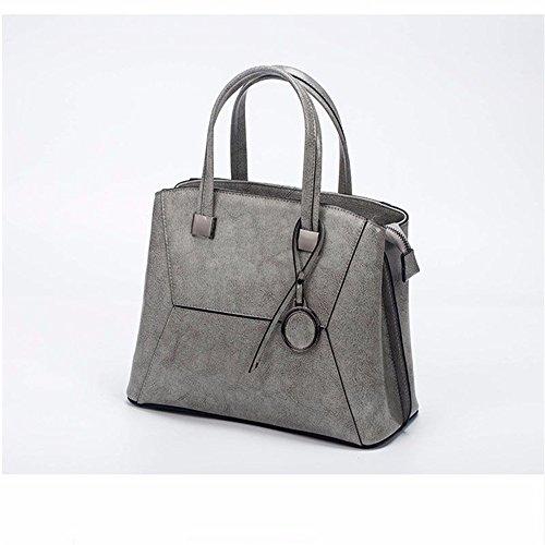 Main Mode Mesdames À Baudrier Gris Couture Sac Gray Gwqgz Nouveau D'Un Biais Sac Recouvrant En Simple Tempérament c1fqT4I54
