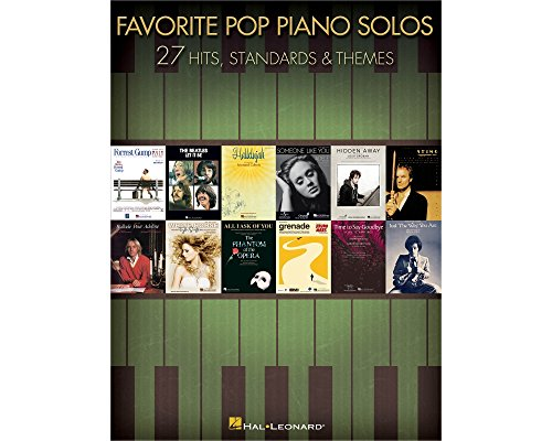 Hal Leonard Favorite Pop Piano Solos - Softcover Solos