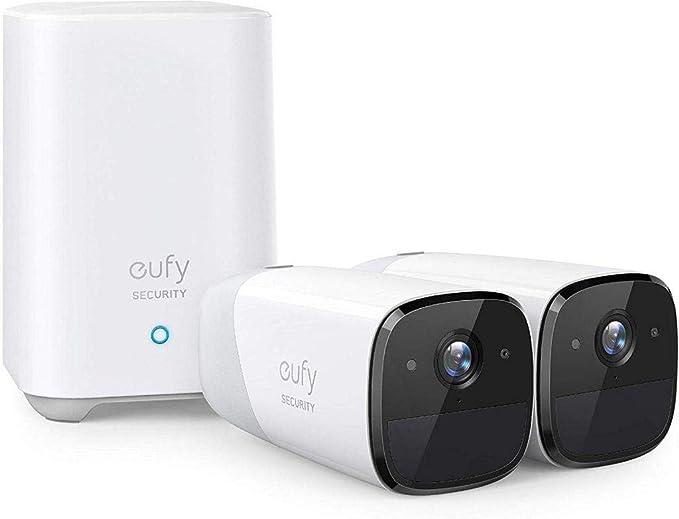 كاميرا مراقبة بدون اسلاك تعمل بالبطارية حتى 365 يوم من EUFY