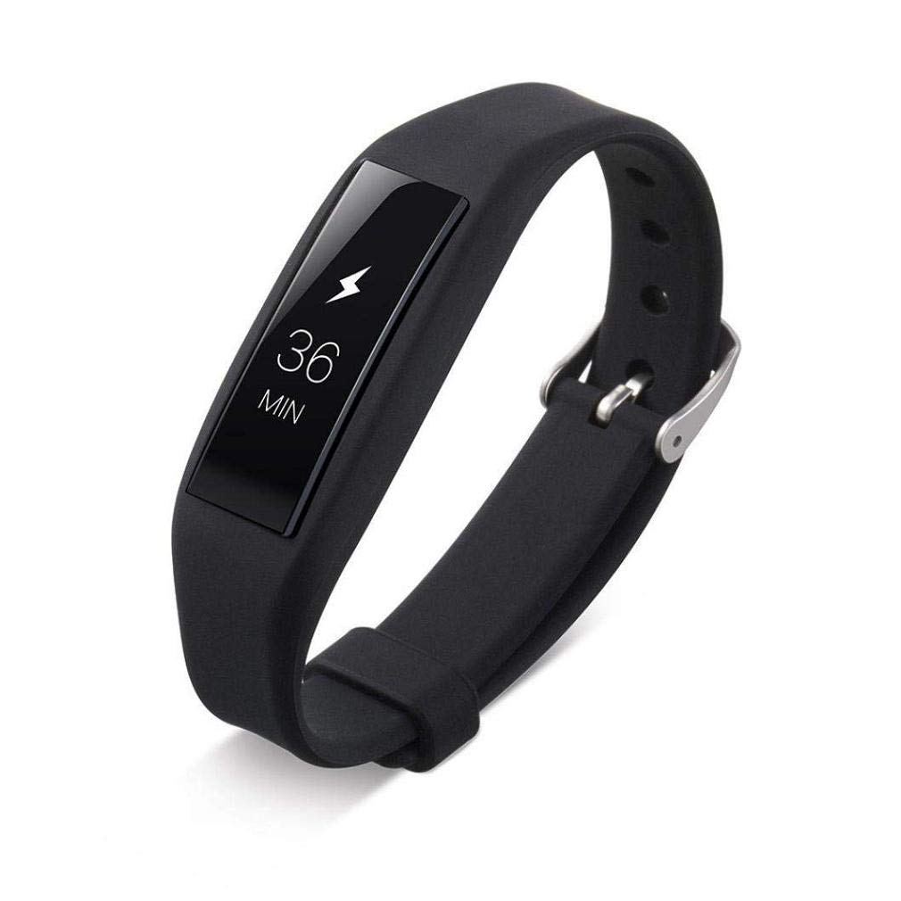Fashion Clearance! Noopvan Fitbit Alta Replacement Band,Classic Adjustable Wristband, Silicone Sport Straps Bracelet with Metal Clasp for Fitbit Alta (Black)