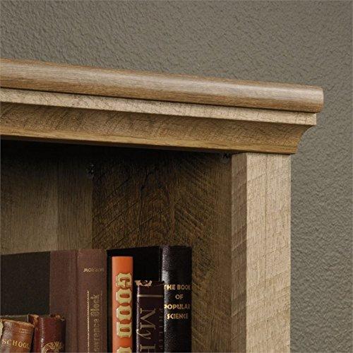 Sauder 417223 East Canyon 5 Shelf Bookcase, L: 29.29'' x W: 13.39'' x H: 71.02'', Craftsman Oak finish