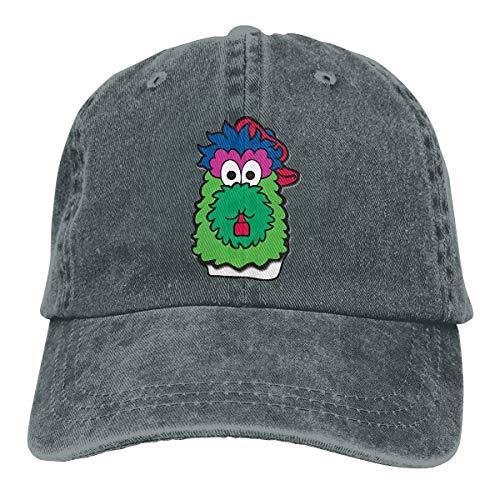 Philadelphia Baseball Fan Phillie Phanatic Dad Hat Baseball Cap Hat for Men Women-Classic Adjustable Deep Heather ()