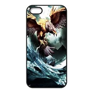 JamesBagg Phone case Eagle pattern art For Apple Iphone 5 5S Cases FHYY409604