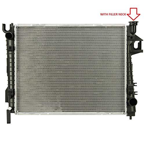 """Klimoto Brand New Radiator fits Dodge Ram 1500 2002-2008 3.7L V6 4.7L 5.7L 5.9L V8 CH3010281 CH3010301 (24"""" Wide) (1"""" Thick) 52028830 52028830AE 52028830AF Q2480 CU2480 RAD2480 DPI2480"""