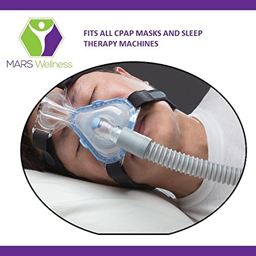 Premium Universal CPAP Tubing Hose 120'' - 10 Foot Extra Long - 1 Pack by MARS Wellness (Image #3)
