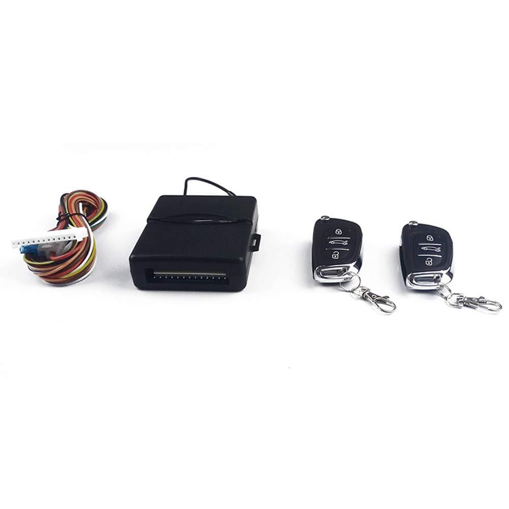Ocamo Auto Accesorios 12 V Universal Auto Auto Mando a Distancia Cierre centralizado Kit de Bloqueo de Puerta de veh/ículo sin Llave Sistema de Acceso