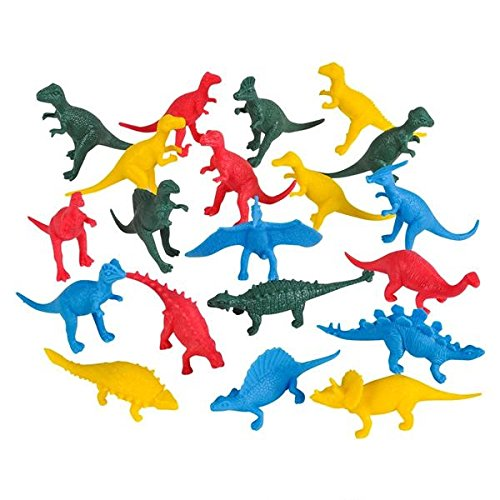 Dinosaur Bulk Toys Party Pack 144 Plastic Toy Dinosaurs In Assorted Colors 1 Gross-2