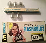 Sylvania M3 Blue Dot Camera Flashbulbs, (Pack of 12)