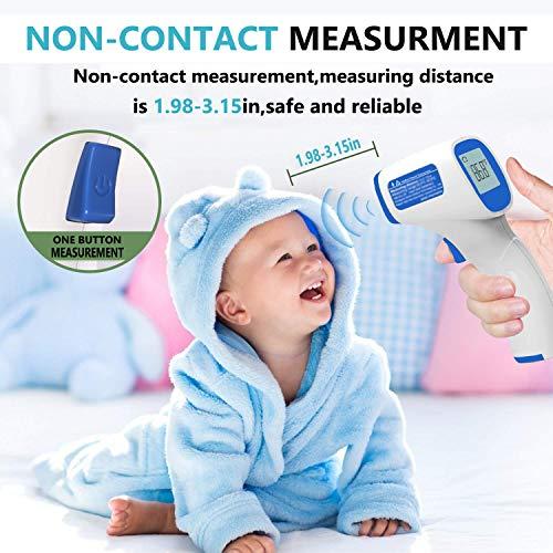 XINYA BAO Forehead Thermometer,Digital Body and Surface Thermometer 2 in 1 Dual Mode Thermometer