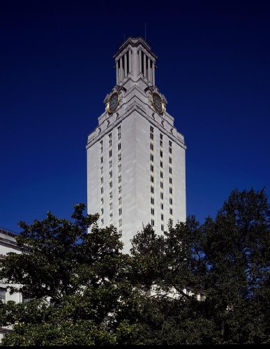 (Photography Poster - University Tower at the Univesity of Texas Austin Texas ...)