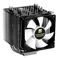 Thermalright 100700725 Macho 90 High-End CPU-Kühler für Intel und AMD CPUs, 4x 6 mm Heatpipes, 92 mm PWM-Lüfter (800-2.000 U/min, 21-27 dBA, 26,8-66,9 m³/h)