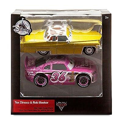 Disney Tex Dinoco and Reb Meeker Die Cast Car Set - Cars 3: Toys & Games