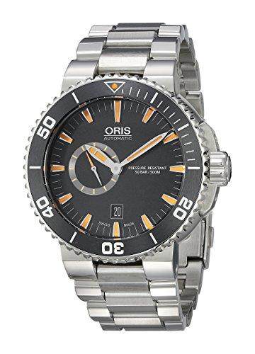 Oris-Mens-74376734159MB-Aquis-Analog-Display-Swiss-Automatic-Silver-Watch