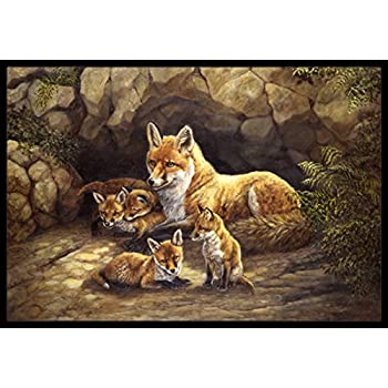 how to make a den in your living room caroline s treasures bdba0157jmat wolf wolves 28267