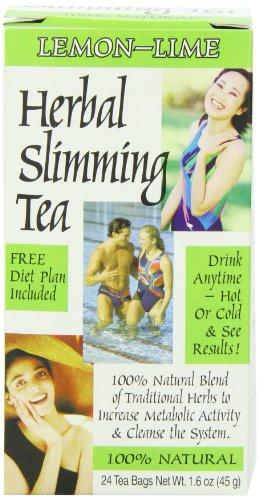 21st Century Slimming Tea, Lemon Lime, 24 Count