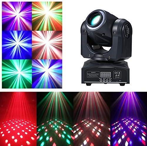 60W RGBW LED Cabezas Móviles Patrones de iluminación DMX512 4 de ...