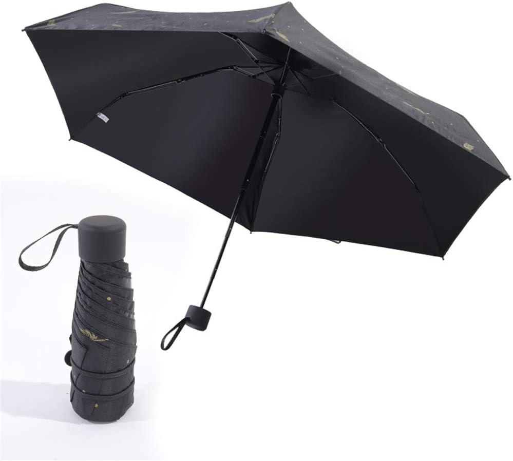 JUNDY Paraguas portátil Mini Plegable Resistente al Viento – Duradero Paraguas de Viaje Sombrilla Ultraligera de 50 Pliegues Protección UV Paraguas Plegable colour12 95cm: Amazon.es: Hogar