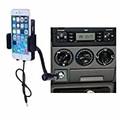 Neewer 5V/1A Handsfree All-in-One FM Transmitter with Car Charger Cigarette Lighter for Apple iPod iTouch 5/iPhone...