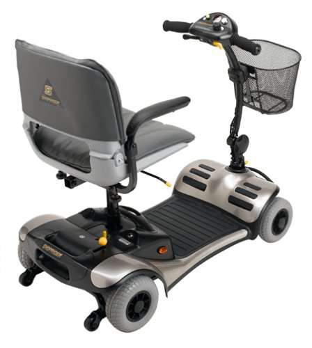 Shoprider Dasher 4 Four Wheel Color Interchangeable Personal Travel Scooter