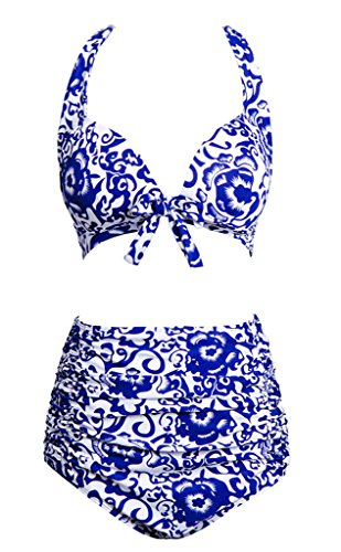Wantdo Womens Oriental Porcelain Swimsuits product image