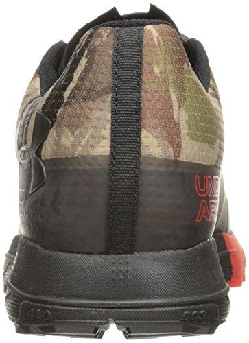 Under Armour Men's Hiking Boot, M US Ridge Reaper Camo Ba/Risk Red