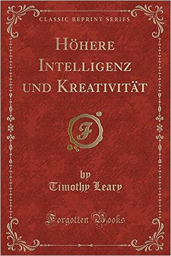 PDF Kreativität und Intelligenz (German Edition)