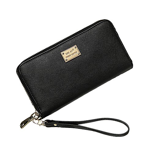 Canvas Long Snap Wallet (Wallet,AfterSo Simple Long Wallet Coin Purse Card Holders Clutch for women (19cm/7.48