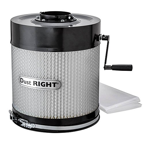 Dust Right Canister Filter for Wall Mount Dust Collector ()