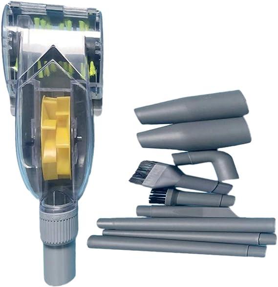 10 pcs Separador de Polvo de Cepillo Turbina de Piso para Aspirador - 32mm: Amazon.es: Hogar