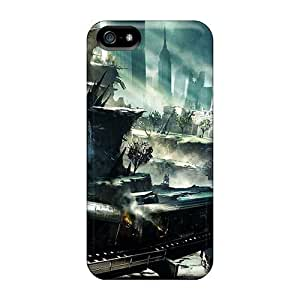 Durable Protection Case Cover For Iphone 5/5s(crysis 2 Nyc) by runtopwell