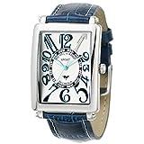[Michel Jordan] michel Jurdain watch sports diamond leather White x Blue Men's SG3000-5 Men's