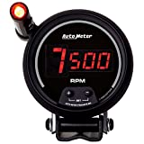 Auto Meter 6399 Sport Comp Digital 3-3/4'' Digital Mini Monster Tachometer