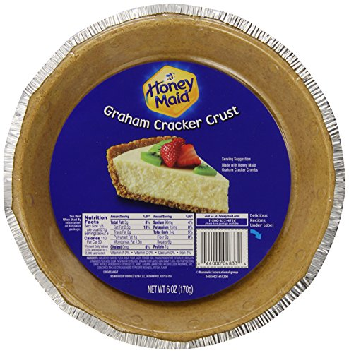 Honey Maid Graham Cracker Pie Crust (6-Ounce, 12-Pack) (Graham Cracker Pie)