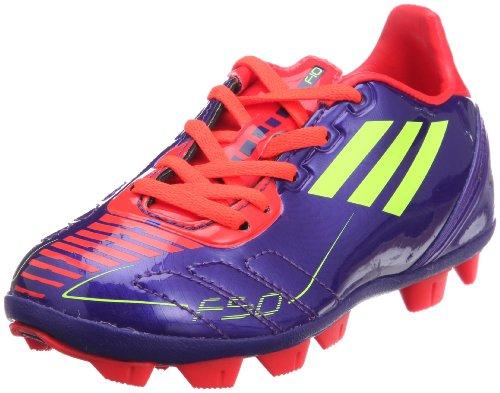 ADIDAS F10 TRX HG FG J lila/rot/neongelb Fußballschuhe aktuelle Farbe