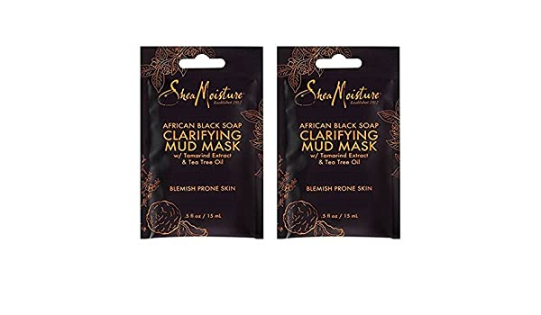 African Black Soap Clarifying Mud Mask by SheaMoisture #8