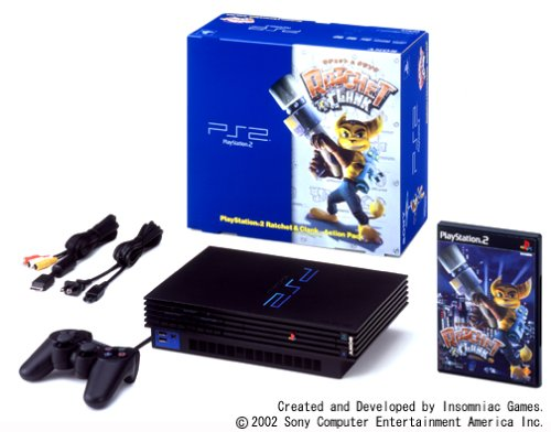 PlayStation 2 Ratchet & Clank Action Pack【メーカー生産終了】 (Ratchet And Clank Up Your Arsenal Ps2)