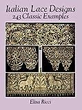 Italian Lace Designs, Elisa Ricci, 0486275884