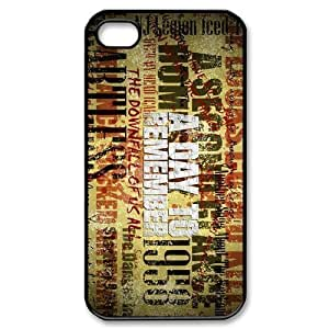 Customize Famous Rock Band A Day To Remember Back Case for iphone4 4S JN4S-1733 WANGJING JINDA