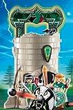 Playmobil - 4775 - Figurine - Tour des Chevaliers des Dragons Verts