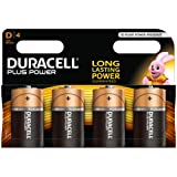 Duracell Plus Power Alkaline Batterien D (MN1300/LR20) 4er Pack
