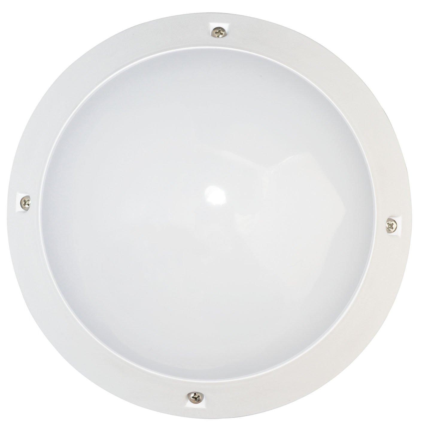 Tibelec 341310 Hublot LED, plástico, 6 W, color blanco, 75 x diámetro 215 mm: Amazon.es: Iluminación