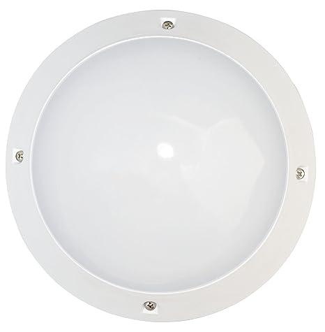 Tibelec 341310 Hublot LED, plástico, 6 W, color blanco, 75 x diámetro