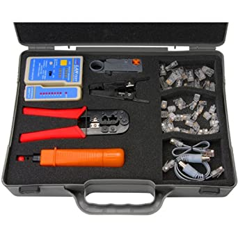 Velleman VTMUS2 Crimping Tool Kit for Network Cables, 1 Grade to 12 Grade: Computer Ethernet Cables: Amazon.com: Industrial & Scientific