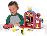 MICKEY ROADSTERS Just Play Mickey and the Roadster Racers Gas Station Playset