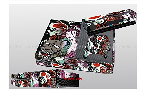 Vinyl Skin Decal Cover for xBox-One Console Gamepad Controller Sticker xbox one (Japanese Anime)