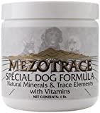Mezotrace 1400 Special Dog Formula Natural Minerals and Trace Elements - 1 Pound