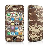 Digital Desert Camo Design Protective Decal Skin Sticker (High Gloss Coating) for Apple iPhone 4 / 4S 16GB 32GB 64GB